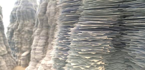Beeldhouwkunst met alledaagse materialen… een fascinerend resultaat!
