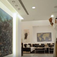 Een kijkje achter de kunstcollectie van… Mohammed Afkhani