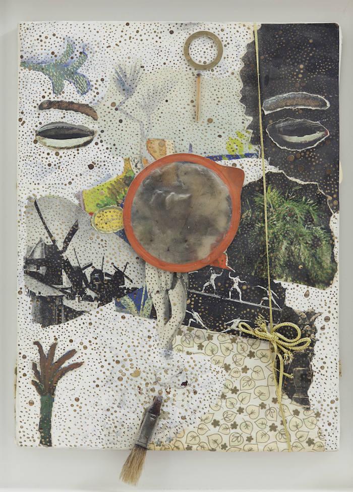 Michael Buthe, Ohne Titel (vroege jaren 70), Kunstmuseum Luzern © Pro Litteris, Zürich