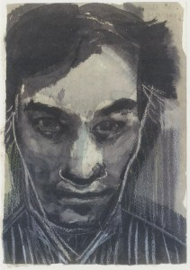 Marlène Dumas' portret van Jan Hoet