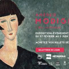 Overzichtstentoonstelling Modigliani @ Rijsel Museum van Moderne Kunst