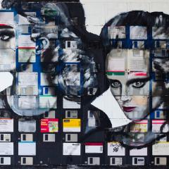 Nick Gentry: van floppy tot portret