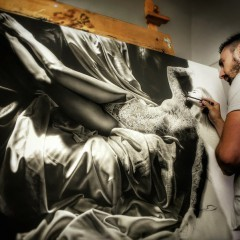 De 'making of' van een hyperrealistisch schilderij… fascinerend!