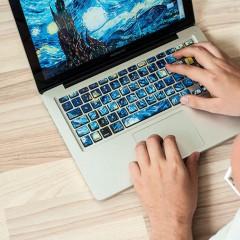 Maak van je toetsenbord een echt kunstwerk