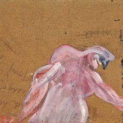 Twee helften van een studie van Francis Bacon, voor het eerst herenigd
