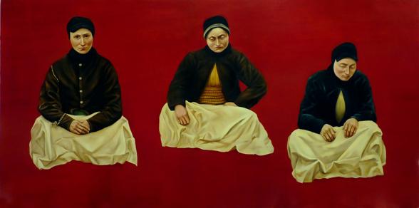 Sophie Kuijken © Galerie Nathalie Obadia