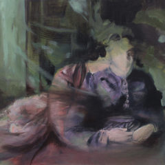 De zoektocht naar expressie en abstractie, over het werk van Karien Deroo