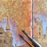 Het reisdagboek van een kunstenaar