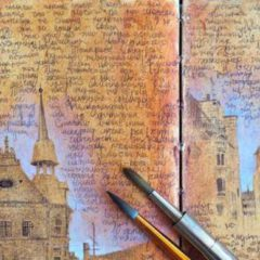 Kunstenaars en reisdagboeken, een magische combinatie…
