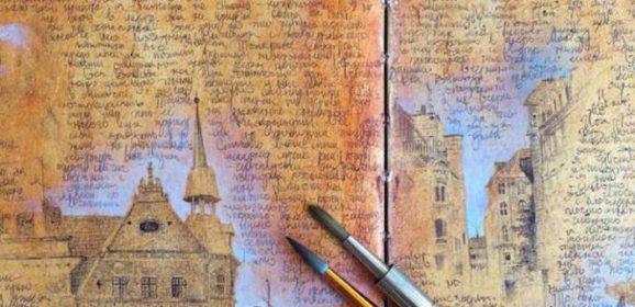 Het fabelachtige reisdagboek van een kunstenaar