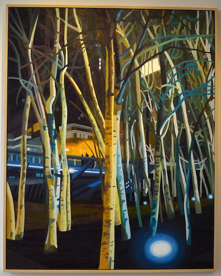 Bankside Birches, Hans Vandekerckhove @ Light Cube Gallery; foto: Wouter Verbeke, TheArtCouch