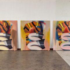 Nieuw werk van Hadassah Emmerich, nog tot 18 december bij the white house gallery