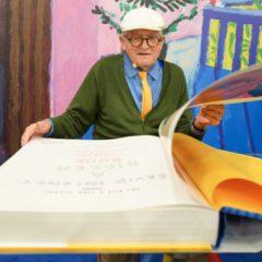 'A bigger book', een mooi eerbetoon aan David Hockney