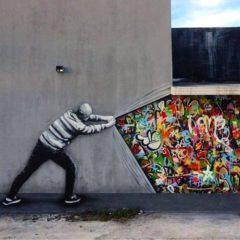 Confronterend, grappig, ontroerend… onze selectie street art van deze maand