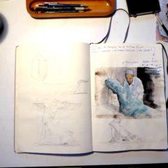Een kijkje in het schetsboek van… Gideon Kiefer