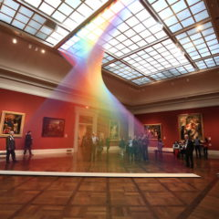 Merkwaardige kunstinstallaties (#6) een stukje natuur in het museum…
