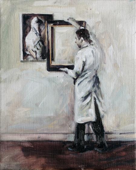 L'histoire de chaque tableau 3O on 24 cm Herve Martijn