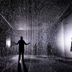 """""""Rain room"""" in Barbicon, Londen… intussen een tijdje geleden, maar nog altijd fascinerend"""