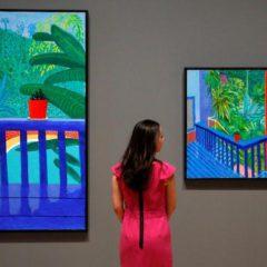 Waarom je de overzichtstentoonstelling David Hockney in Tate Britain niet mag missen