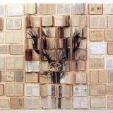 Boeken als canvas… intrigerend werk van Ekaterina Panikanova