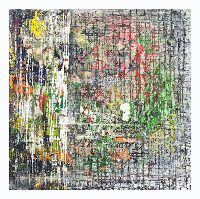 Lode Laperre, Scene Shredder Shatter Pattern I, 2017, 30x30