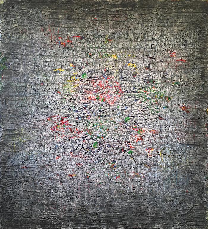 Lode Laperre, Surroundaboundaries (Colorganogenesis V), 2017, 110x100