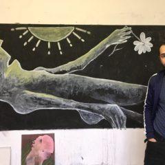 Een bezoekje aan het atelier van de Iraakse kunstenaar Haider Jabbar