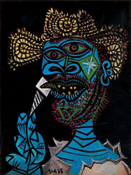 picasso-self-portraits-in-chronological-order-1901-1972-7