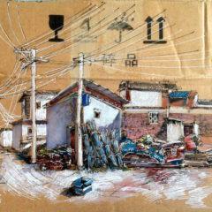 Het gebruik van afval in de kunst… Wenyi doet het op een heel eigen manier!