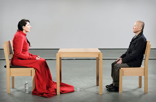 Marina Abramovic´: The Artist Is Present Photo by Marco Anelli. © 2010 Marco Anelli