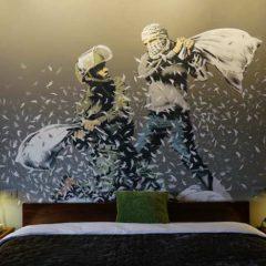 Kunstenaar opent hotel… Welkom in Banksy's 'Walled Off' Hotel
