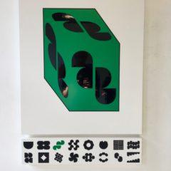 Grafisch ontwerp als beeldende kunst in Galerie De Ziener