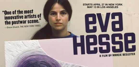 Een monument uit de recente kunstgeschiedenis… het leven en werk van Eva Hesse verfilmd