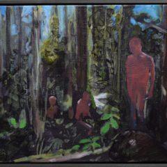 Into Beach Pool Palm Trees, nieuw werk van Bram Kinsbergen nog tot 13 mei in Museumstraat 25