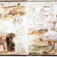 Een kijkje in het schetsboek van… Eugène Delacroix' Marokkaanse reis