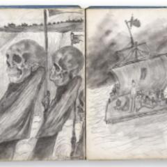 Een kijkje in het jeugdschetsboek van… Léon Spilliaert