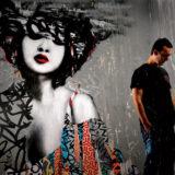 Een sterk opkomend talent in de street art: ontdek het werk van Hush