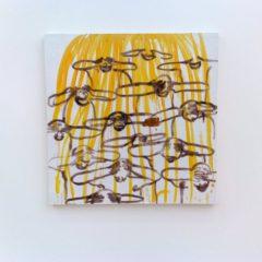 Schaterlachen terwijl je schildert… ontdek het werk van de Iraanse Tala Madani