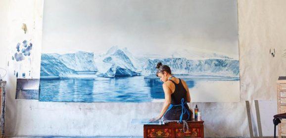 Kunst uit de toppen van de vingers, en met een boodschap. Ontdek het werk van Zaria Forman!