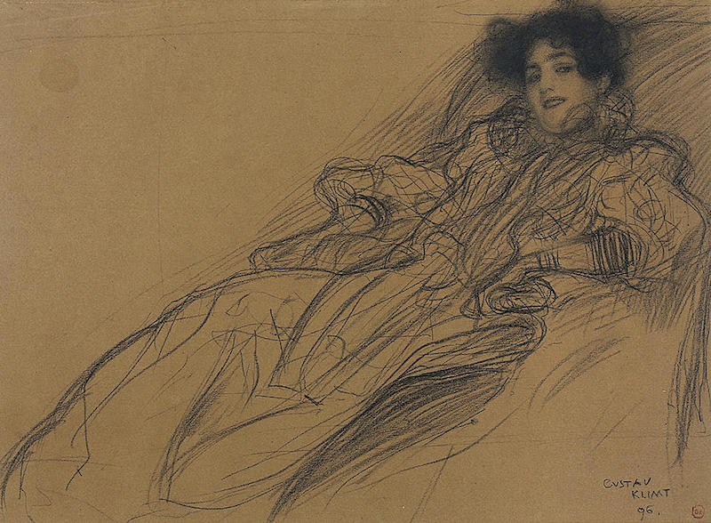 klimt-young-woman-in-an-armchair-gustav-klimt