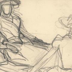 Een kijkje in het schetsboek van… Claude Monet