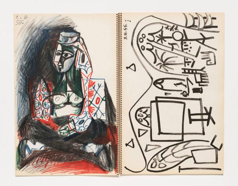 Picasso, carnet de la Californie