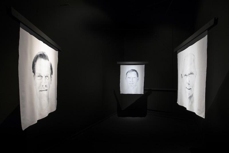 24 september 2017 - Gent, België - Opening van de expo Nooit Gezien in het Museum Dr Guislain over dementie en waarneming. In het kader van de Alzheimercode. @Evy Raes