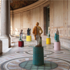 Johan Creten palmt het Petit Palais in met zijn '8 Gods'