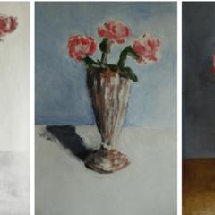 'Les fleurs de Rue du Temple', treffende eenvoud in het werk van Jean De Groote, vanaf 27 oktober bij Galerij De Buck