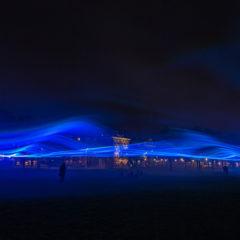 """""""Waterlicht"""", magische installatie van Daan Roosegaarde vanaf 21 oktober in Madrid"""