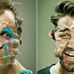 De 'defiguratieve' portretten van Wes Naman… alleszins een bevreemdend zicht