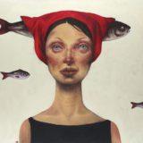 Portretten van sterke vrouwen. Ontdek het werk van de Iraanse Afarin Sajedi