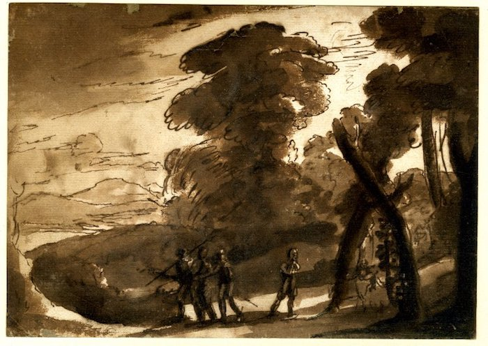 lorrain-landscape-with-figures-c1635-drawing-bm