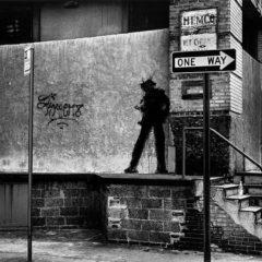 The shadowman… Richard Hambleton, de grootvader van de street-art overleden